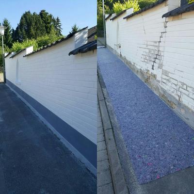 Mauerarbeiten in Rinteln